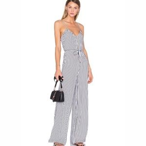 NEW House of Harlow X REVOLVE Gia Striped Jumpsuit
